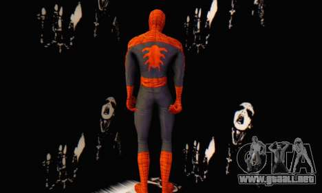 Skin The Amazing Spider Man 2 - Suit Edge Of Tim para GTA San Andreas segunda pantalla