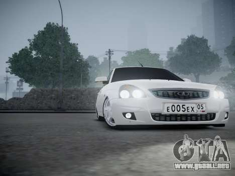 VAZ 2172 para GTA 4 vista hacia atrás