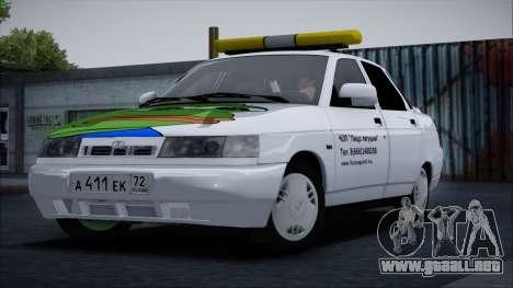De los FLOREROS 2110 Cara de Rana para GTA San Andreas