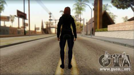 Mass Effect Anna Skin v10 para GTA San Andreas segunda pantalla