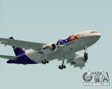 Airbus A310-300 Federal Express para GTA San Andreas left