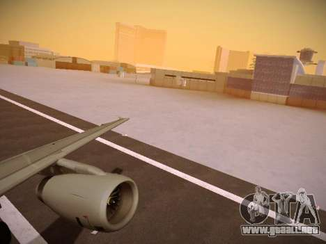 Airbus A319-132 Germanwings para visión interna GTA San Andreas