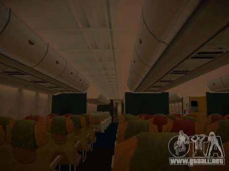 Airbus A380-800 Thai Airways International para las ruedas de GTA San Andreas