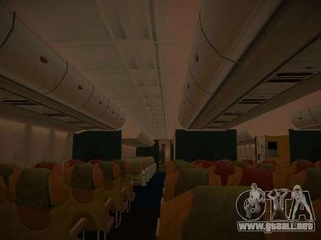 Airbus A380-800 Thai Airways International para las ruedas de GTA San Andreas
