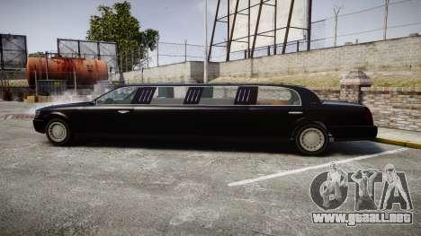 GTA V Albany Washington Limousine para GTA 4 left