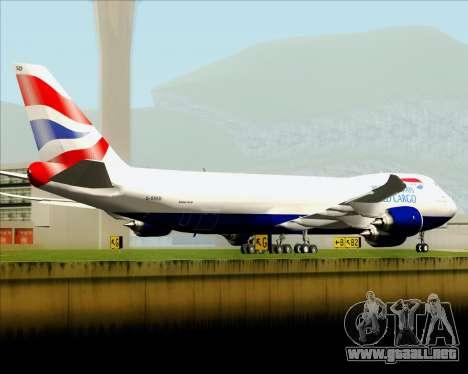 Boeing 747-8 Cargo British Airways World Cargo para el motor de GTA San Andreas