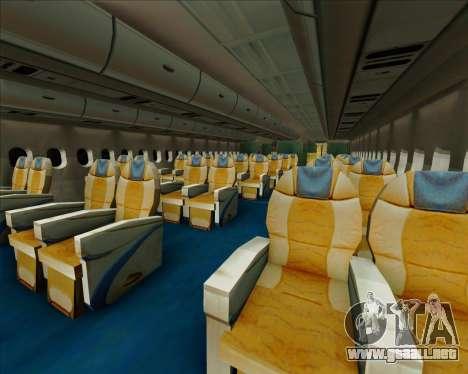 Airbus A380-861 Qatar Airways para las ruedas de GTA San Andreas