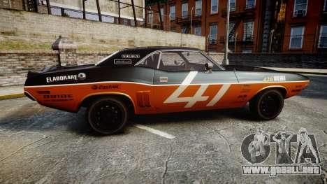 Dodge Challenger 1971 v2.2 PJ9 para GTA 4 left