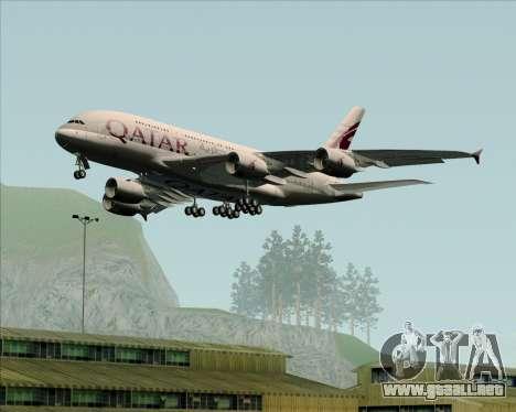 Airbus A380-861 Qatar Airways para GTA San Andreas
