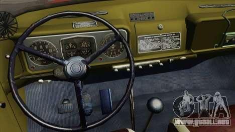 ZIL 131 - AL para visión interna GTA San Andreas