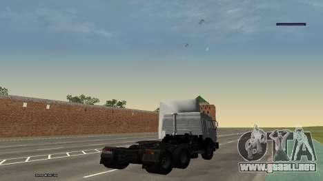 KamAZ-54115 para GTA San Andreas left
