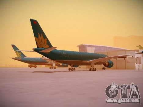 Airbus A330-200 Vietnam Airlines para la visión correcta GTA San Andreas