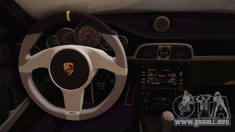 Porsche 911 GT3RSR para GTA San Andreas vista hacia atrás