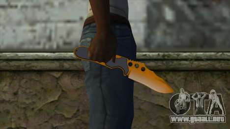 Nitro Knife para GTA San Andreas tercera pantalla