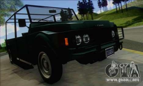 GTA V Canis Kalahari (IVF) para la visión correcta GTA San Andreas