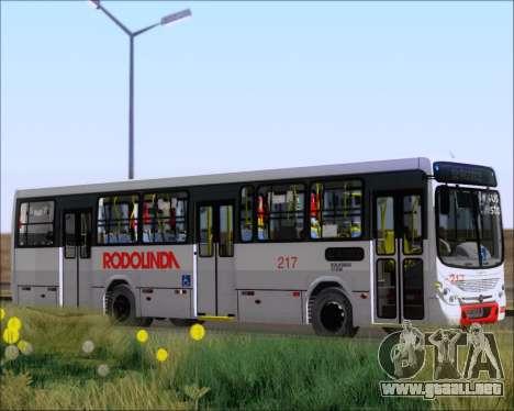 Marcopolo Torino G7 2007 - Volksbus 17-230 EOD para las ruedas de GTA San Andreas