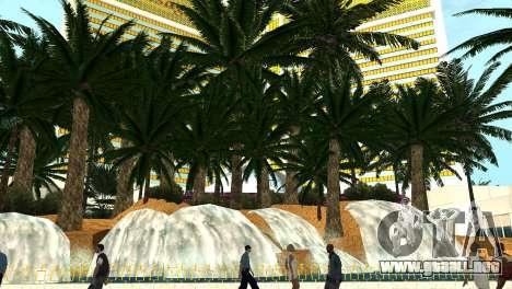Nuevas texturas de casino Rostro en Las Venturas para GTA San Andreas sucesivamente de pantalla