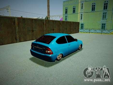 Lada Priora Coupe para la visión correcta GTA San Andreas