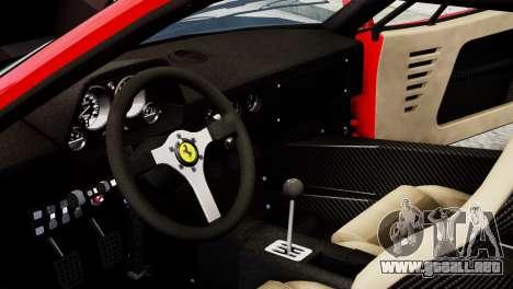 Ferrari F40 1987 para GTA 4 vista lateral