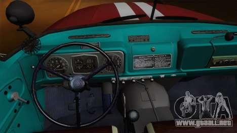 ZIL 131 - CA para la vista superior GTA San Andreas