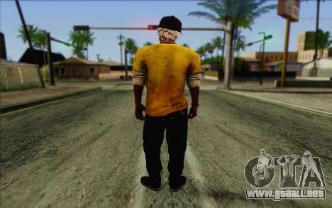 Oliver Carswell para GTA San Andreas segunda pantalla