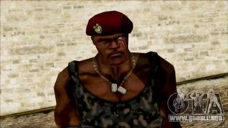 Manhunt Ped 20 para GTA San Andreas tercera pantalla