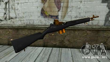 Nitro Rifle para GTA San Andreas segunda pantalla