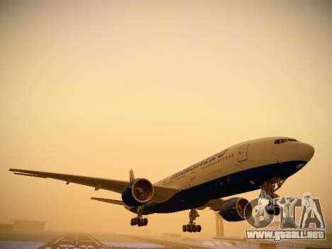Boeing 777-212ER Transaero Airlines para GTA San Andreas left