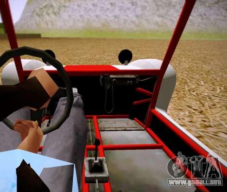 GTA 5 Bifta para GTA San Andreas vista posterior izquierda