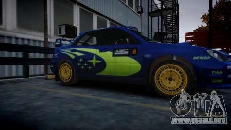 Subaru Impreza STI Group N Rally Edition para GTA 4 Vista posterior izquierda