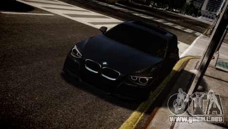 BMW 135i para GTA 4 Vista posterior izquierda