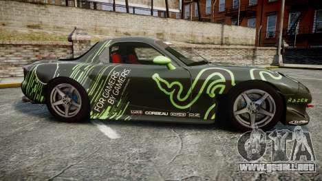 Mazda RX-7 Razer para GTA 4 left