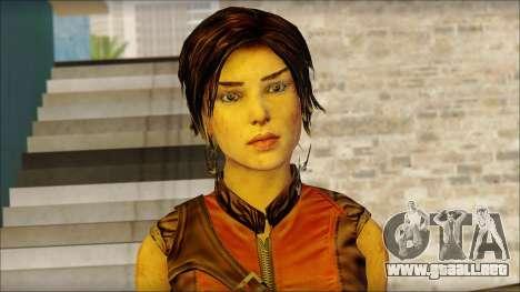 Tomb Raider Skin 5 2013 para GTA San Andreas tercera pantalla