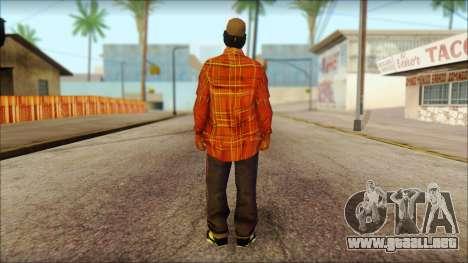Eazy-E Red Skin v1 para GTA San Andreas segunda pantalla