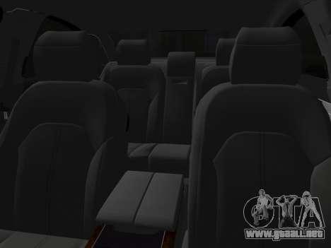 Audi A8 2010 W12 Rim3 para GTA Vice City vista lateral
