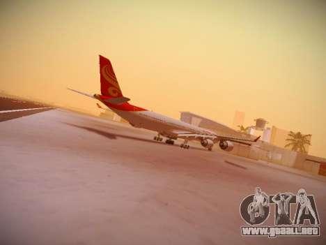 Airbus A340-600 Hainan Airlines para GTA San Andreas vista hacia atrás