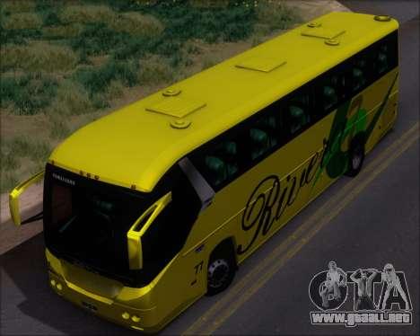 Comil Campione 3.45 Scania K420 Rivera para GTA San Andreas vista hacia atrás