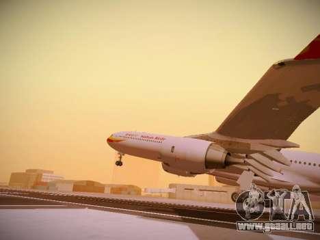 Airbus A340-600 Hainan Airlines para vista inferior GTA San Andreas