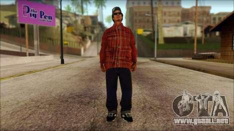 Eazy-E Red Skin v1 para GTA San Andreas