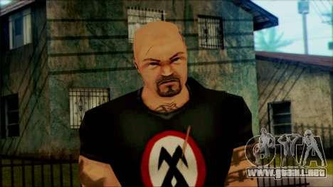 Manhunt Ped 13 para GTA San Andreas tercera pantalla