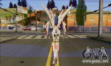 Starscrim from Transformers Prime para GTA San Andreas segunda pantalla