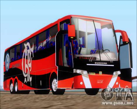 Busscar Elegance 360 C.R.F Flamengo para vista lateral GTA San Andreas