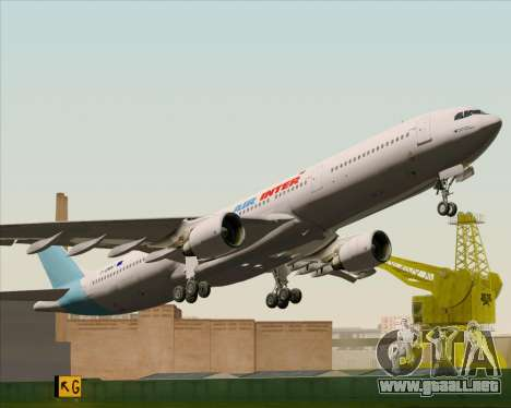 Airbus A330-300 Air Inter para vista lateral GTA San Andreas
