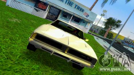 Dodge Charger 1967 para GTA Vice City left