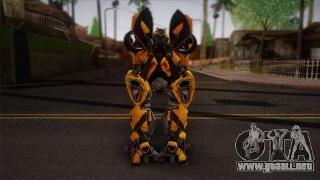 Bumblebee TF2 para GTA San Andreas segunda pantalla