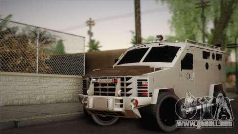 FBI Armored Vehicle v1.2 para GTA San Andreas