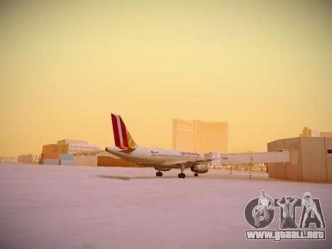 Airbus A319-132 Germanwings para la visión correcta GTA San Andreas