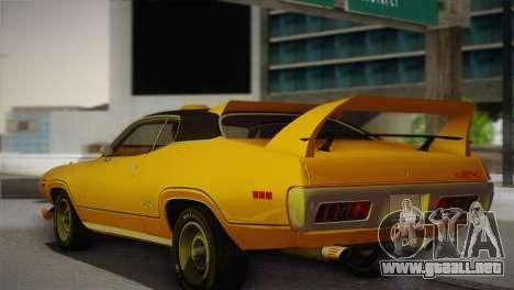 Plymouth GTX Tuned 1972 v2.3 para GTA San Andreas left