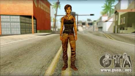Tomb Raider Skin 13 2013 para GTA San Andreas