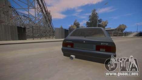AZLK 2141 para GTA 4 vista hacia atrás